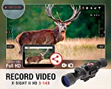 ATN-X-Sight-II-3-14-Smart-Riflescope-w1080p-Video-WiFi-GPS-Image-Stabilization-Range-Finder-Shooting-Solution-and-IOS-and-Android-Apps