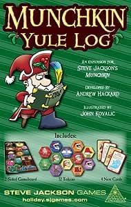 PSI Munchkin Yule Log Board Games