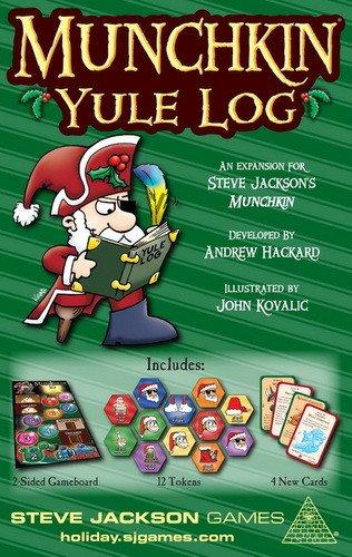 Steve Jackson Games Munchkin Yule Log Card Game