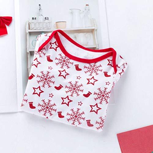 Dot Tout nourrisson Automne Snowflake citrouille Romper Baby Jumpsuit White petit Print Girl qgwzCF