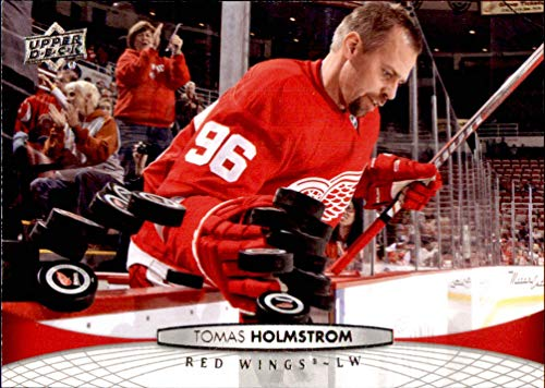 - 2011-12 Upper Deck #390 Tomas Holmstrom DETROIT RED WINGS    NHL (Box69)