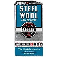 HOMAX PRODUCTS 10121110 Number 0 Steel Wool Pad, 12-Pack