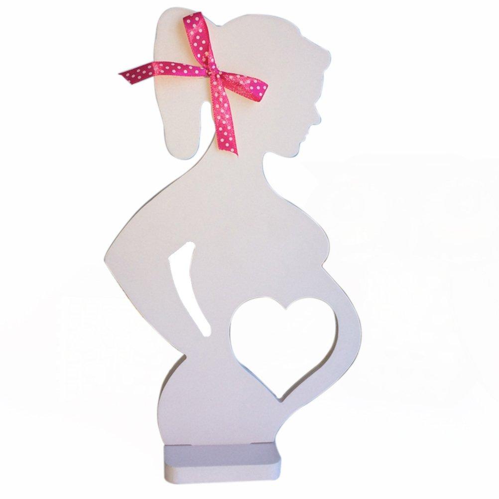 ULTNICE Mujeres embarazadas foto marcos accesorios decorativos para la decoración de adornos de boda: Amazon.es: Bricolaje y herramientas