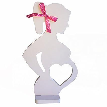 ULTNICE Mujeres embarazadas foto marcos accesorios decorativos para la decoración de adornos de boda