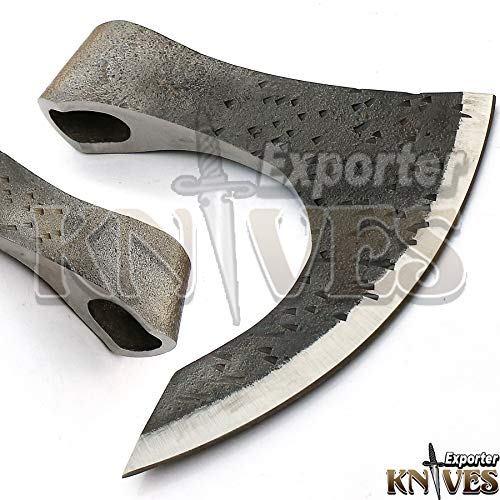 Knives Exporter 1095 Steel Hammer Forged Handmade - Viking Axe Hatchet Head only CSH-15