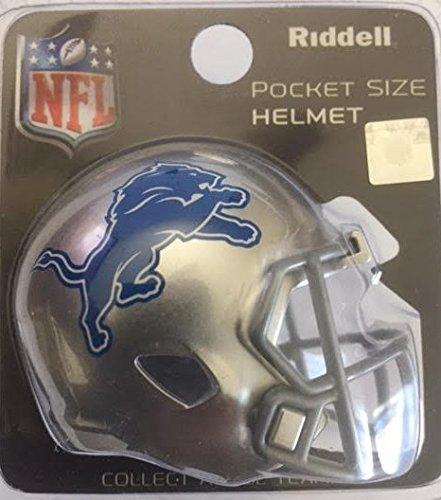 (Riddell NFL Detroit Lions Helmet Pocket Pro, One Size, Team Color)