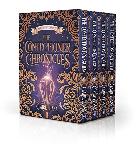 The Confectioner Chronicles: The Complete Fantasy Mystery Series by [Luana, Claire]