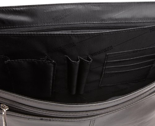 Kenneth Cole Reaction 524975 Luggage A Brief History Portfolio, Black, One Size by Kenneth Cole REACTION (Image #4)