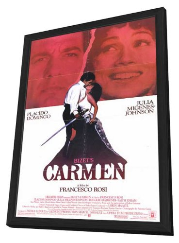 Bizet's Carmen Framed Movie Poster