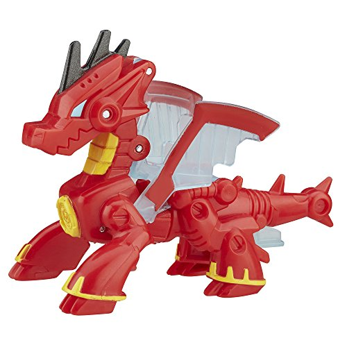 Transformers Playskool Heroes Rescue Bots Drake The Dragon-Bot (Transformers The Last Knight Optimus Prime Kills Bumblebee)