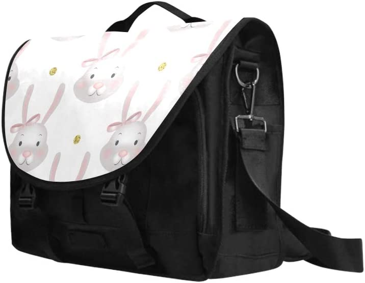 Laptop Bag for Girls Anime Cute Rabbit Cartoon Multi-Functional Modern Woman Bags Fit for 15 Inch Computer Notebook MacBook