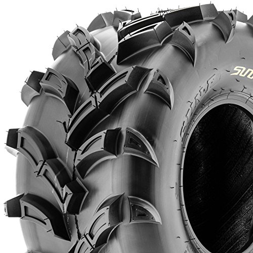 SunF ATV UTV Mud & All Terrain Tires 22x11-9 22x11x9 6 PR A024 (Set pair of 2) by SunF (Image #2)