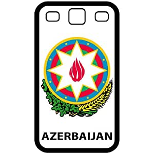Azerbaijan - Country Coat Of Arms Flag Emblem Black Samsung Galaxy S3 i9300 Cell Phone Case - Cover