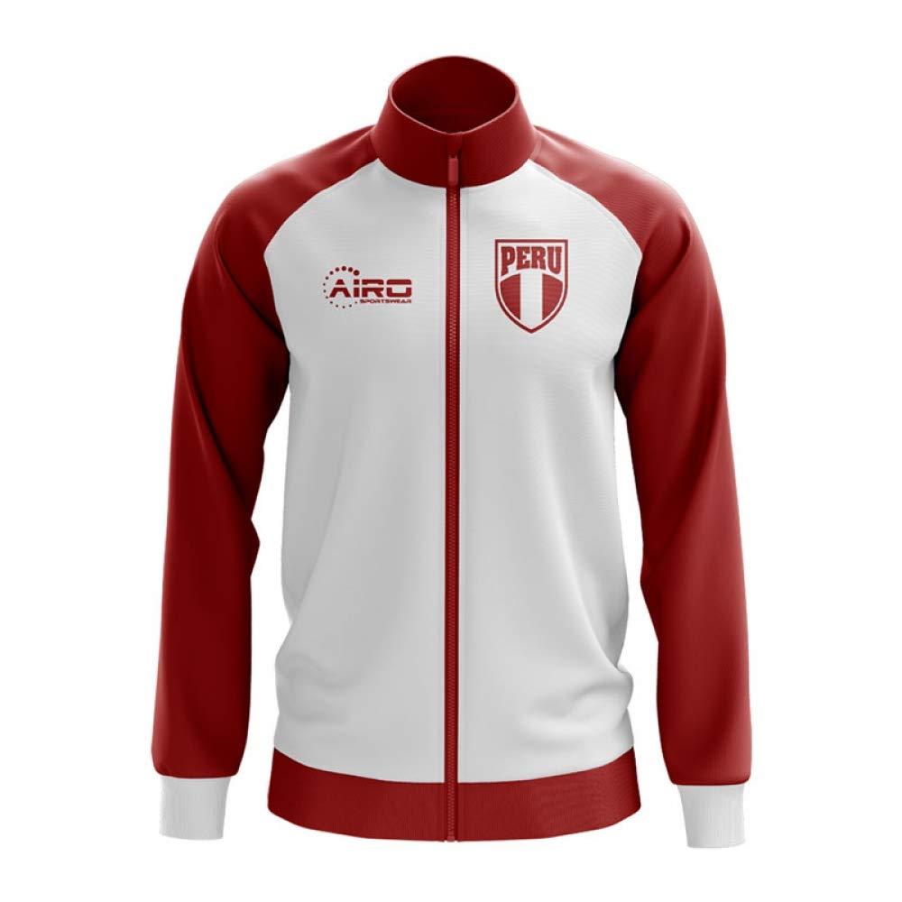 Airo Sportswear Peru Concept Football Track Jacket (Weiß) - Kids