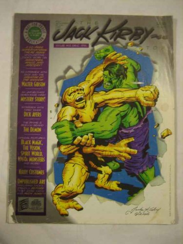 Jack Kirby Collector V.3 #13 Dec. 1996 Walter Gibson Dick Ayers The Demon Black Magic Vision Spirit World (Kirby World Jack Spirit)
