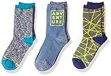 Stride Rite Boys' 3-Pack Crew Socks