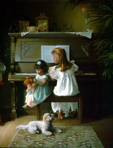 Melodies Remembered by Greg Olsen Limited Edition Canvas Artist Proof Print, 22 x 28-inches