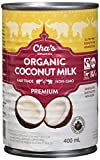Cha's Organics Organic Coconut Milk Multipack - Natural & Gluten-Free Coconut Milk Cans, Perfect For Dairy-Free & Vegan Asian Recipes, Exotic Cocktails & Mouth-Watering Desserts - 6 x 13.5oz