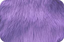 Lavender Luxury Faux Fur Extra Large Size 36\