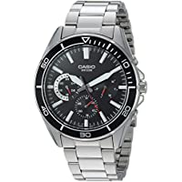 Casio Sports Quartz Stainless Steel Casual Men's Watch (Silver-Toned)