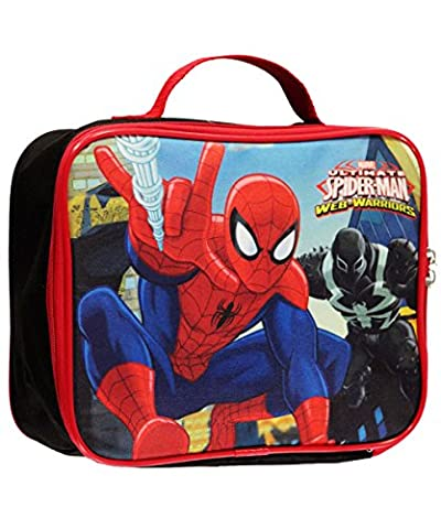 Marvel Ultimate Spider-man Web-Warrior Insulated Lunch Bag - Lunch Box