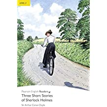 Penguin readers 2: Three Short Stories Of Sherlock Holmes Book and MP3 Pack: Level 2