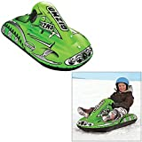 SPORTSSTUFF GIZMO GREEN Snow Tube - Winter Snowmobile Sled