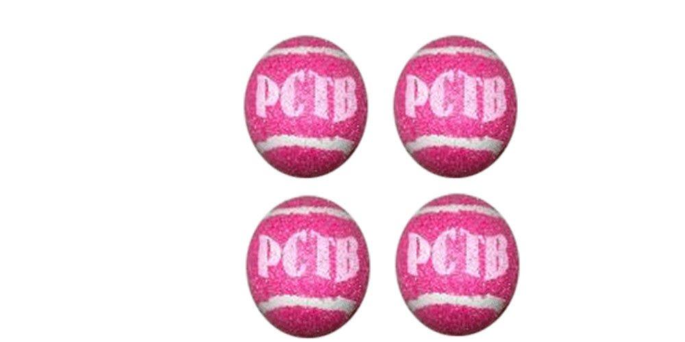 Precut Tennis Ball Glides Color: Pink