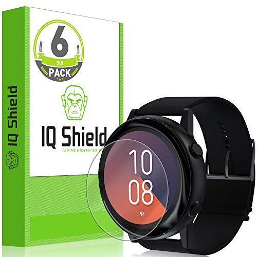 IQ Shield Screen Protector Compatible with Samsung Galaxy Watch Active 40mm (6-Pack) LiquidSkin Anti-Bubble Clear Film from IQShield