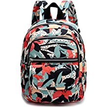 Weekend Shopper Small Lightweight Waterproof Mini Backpack Purse Nylon Casual Travel Daypack for Women