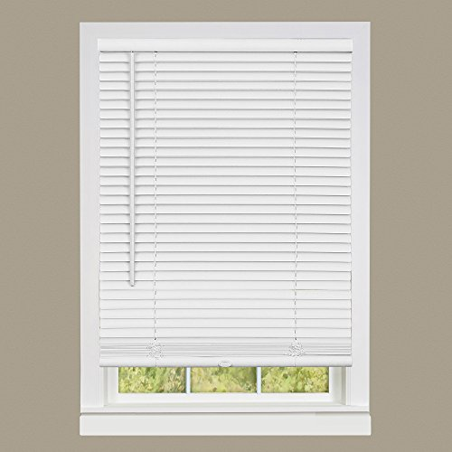 Achim Home Furnishings DSG233WH06 Deluxe Sundown G2 Cordless Blinds, 33 x 64, White