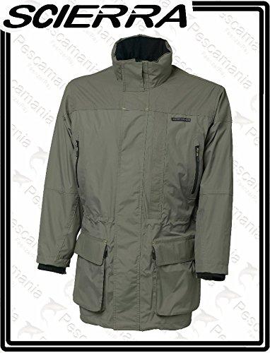 Scierra aquatex PRO giacca lunga traspirante impermeabile antivento