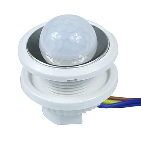 Interruptor de luz con sensor de movimiento y retardo de ...