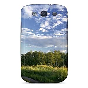 Premium Durable Road To A Small Country Church Fashion Tpu Galaxy S3 Protective Case Cover