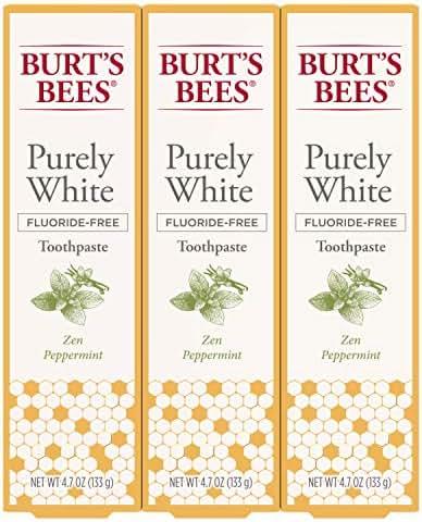 Toothpaste: Burt's Bees Purely White