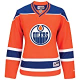 Ladies' Edmonton Oilers NHL Reebok Alternate Orange Jersey