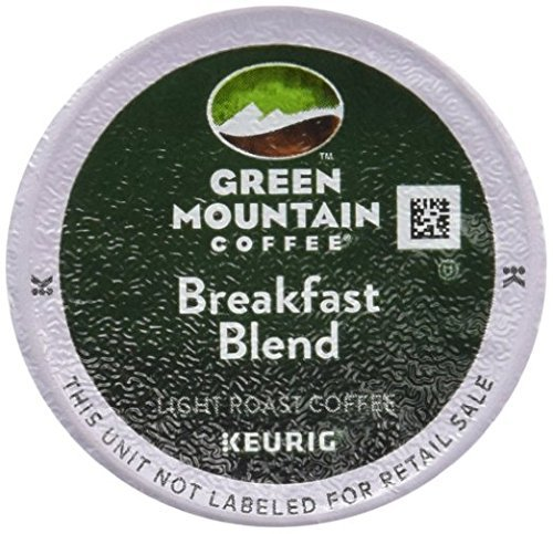 Green Mountain Coffee Breakfast Blend, K-Cup Portion Pack for Keurig K-Cup Brewers - 72 Count