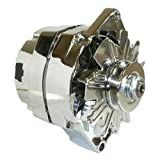 alternator gm - DB Electrical ADR0335-C Alternator (For Chrome General Motors 110 Amp One 1-Wire 65-85)