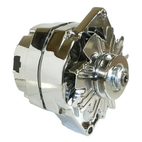 DB Electrical ADR0335-C Alternator (For Chrome General Motors 110 Amp One 1-Wire 65-85)
