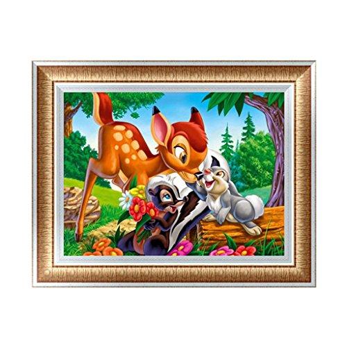 Bambi Kit - Bettal 5D Diamond Embroidery Painting Cross Stitch DIY Art Craft Home Decoration J987