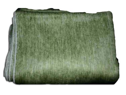 Amazon Super Soft Alpaca Wool HandWovenThrow Blanket Muted Awesome Olive Green Throw Blanket