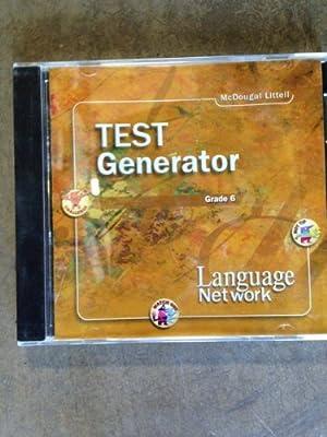 McDougal Littell Language Network Test Generator Grade 6