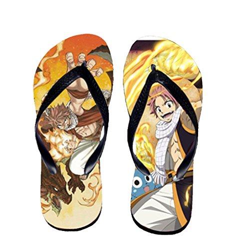 Bromeo Fairy Tail Anime Unisex Flip Flops Chanclas 1