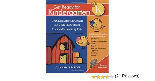 Get Ready For Kindergarten!: 270 Interactive Activities and 2, 158 ...