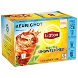 k cups for iced coffee - Lipton Iced Tea K-Cups, Iced Tea Unsweetened 12 ct (Pack of 6)