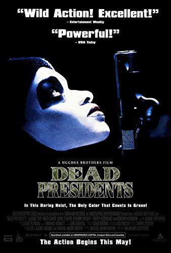 Amazon.com: Dead Presidents POSTER Movie (27 x 40 Inches - 69cm x ...