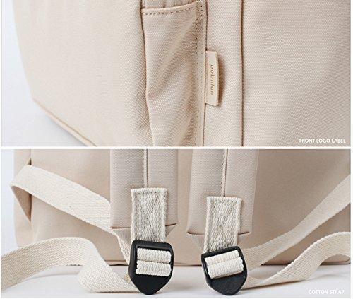 Bubilian BTBB Backpack / Korean Street Brand / School Bag / Travel Bag (Beige) Beige