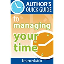 Author's Quick Guide to Managing Your Time