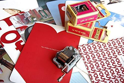 Kikkerland - Feliz cumpleaños - Manivela Caja de música: Amazon.es: Hogar