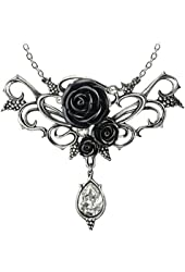 Bacchanal Rose Necklace by Alchemy Gothic